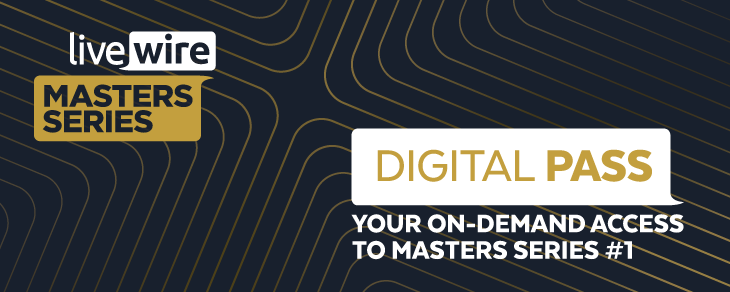 Livewire Master Series Digital Pass - your on-demand access to Master Series #1