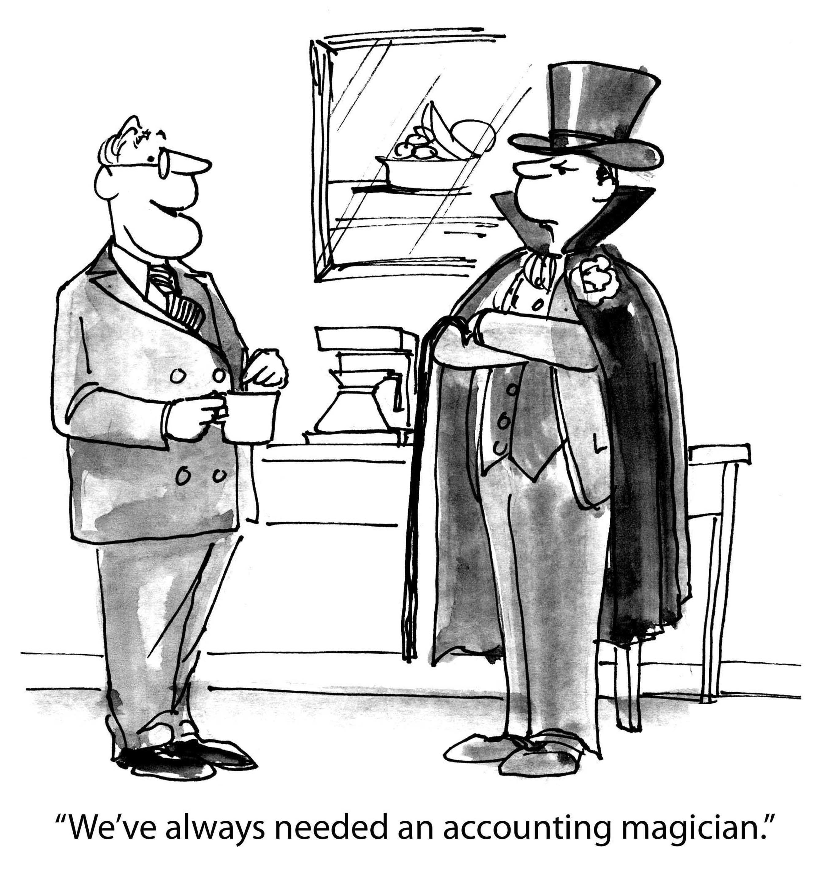 Accounting magician