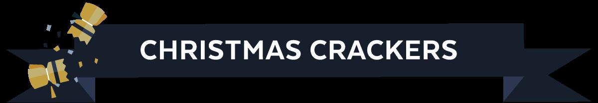 Christmas cracker header