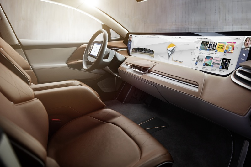 CES: BYTON unveils smart electric concept auto