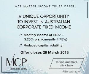 Metrics Credit Partners (ASX: MXT)