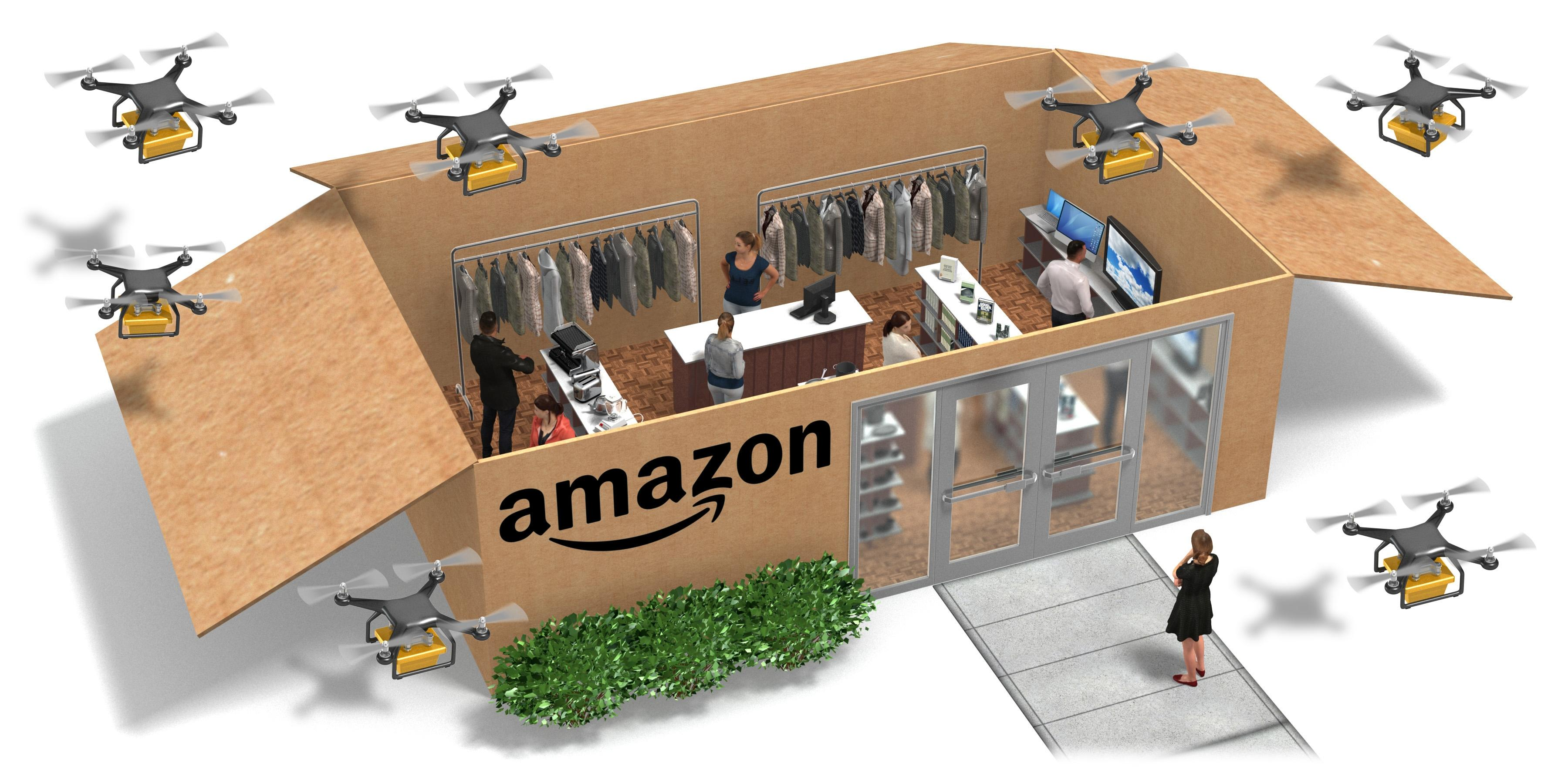 Amazon coming