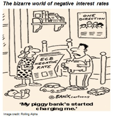 The bizarre world of negative interest rates - Gopi